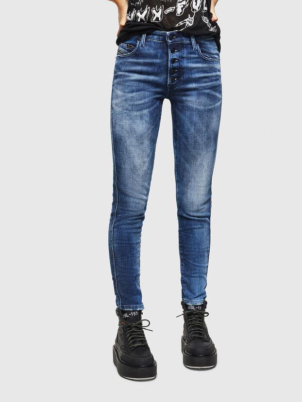 Babhila 0096Q, Bleu moyen - Jeans