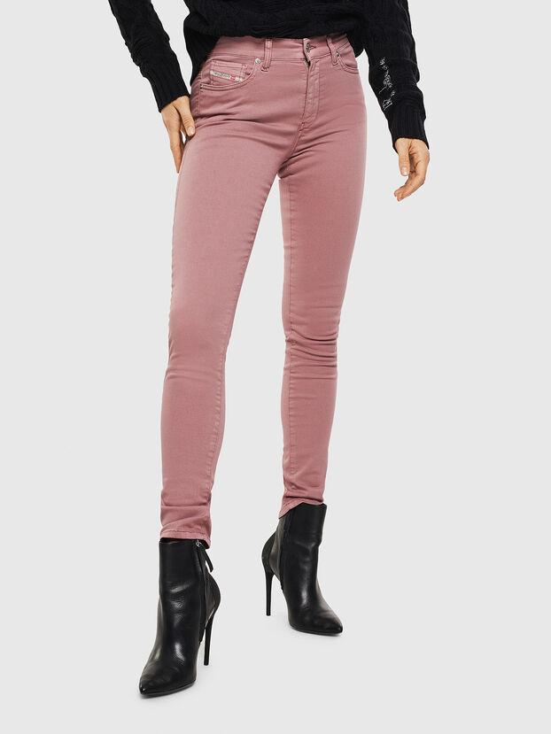 D-Roisin 0096H, Fuchsia - Jeans