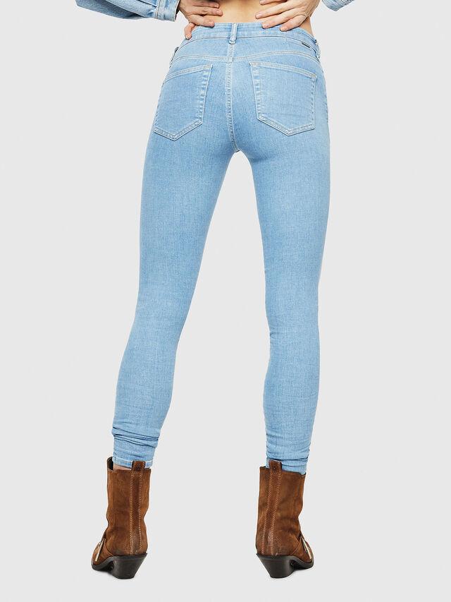 Diesel - Slandy 069FN, Bleu Clair - Jeans - Image 2