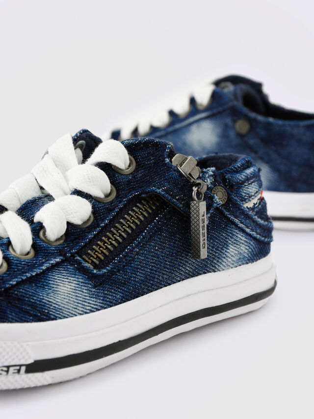 Diesel - SN LOW 25 DENIM EXPO, Jean Bleu - Footwear - Image 6