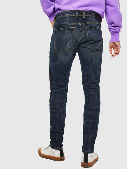 Diesel - Sleenker 069GC, Bleu Foncé - Jeans - Image 2