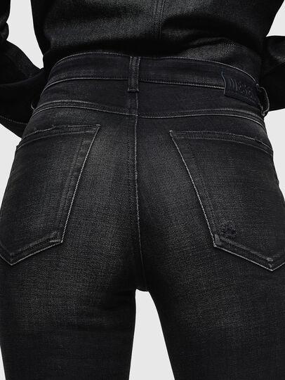 Diesel - Babhila High 0092B, Noir/Gris foncé - Jeans - Image 5