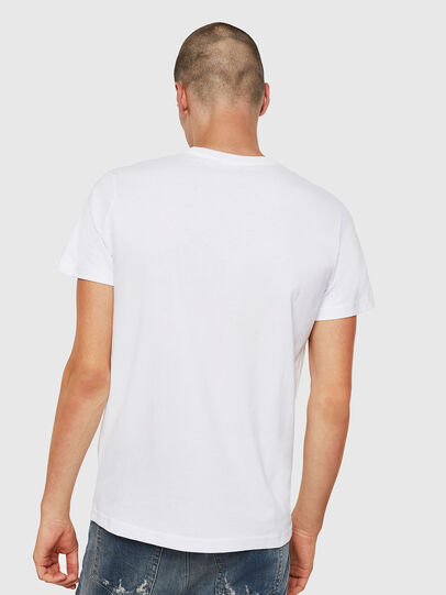 Diesel - T-DIEGO-DIVISION, Blanc - T-Shirts - Image 2