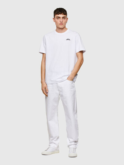 Diesel - T-JUST-E15, Blanc - T-Shirts - Image 5