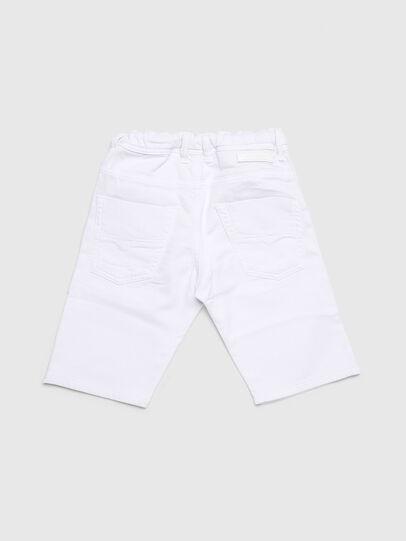 Diesel - KROOLEY-NE-J SH-T JJ, Blanc - Shorts - Image 2