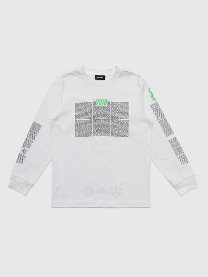 Diesel - TJUSTLS-NEW, Blanc - T-shirts et Hauts - Image 1