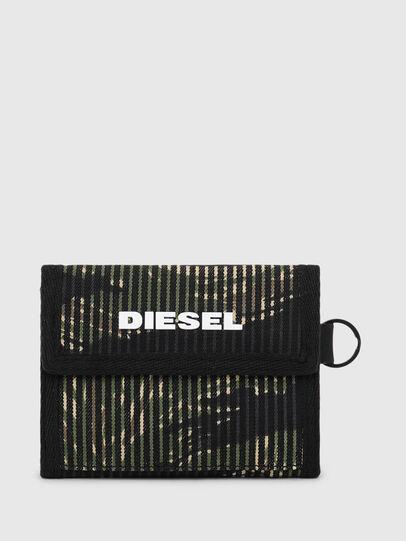 Diesel - YOSHI, Noir/Vert - Petits Portefeuilles - Image 1