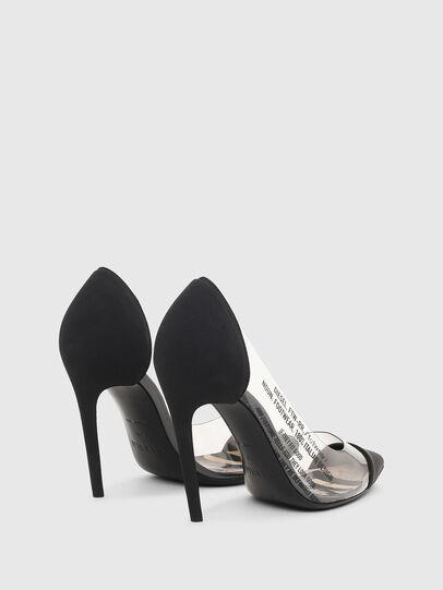 Diesel - D-SLANTY HPDT, Noir - Chaussures À Talon - Image 3