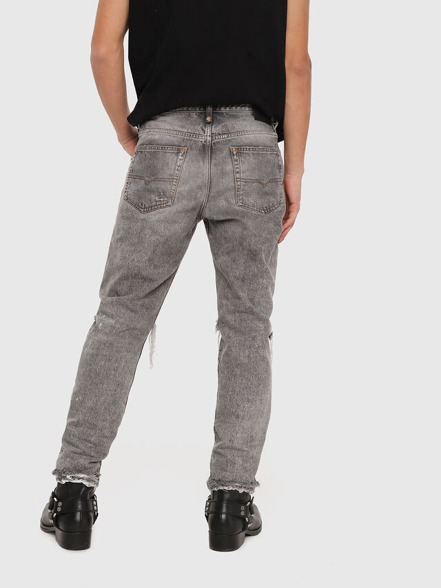 Diesel - Mharky 089AT, Gris Clair - Jeans - Image 2
