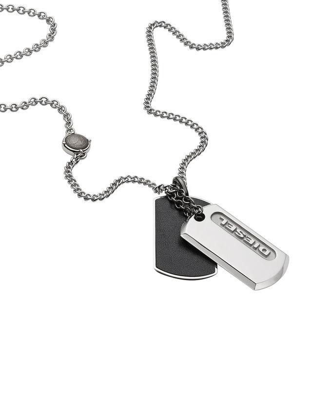 NECKLACE DX0954, Argent