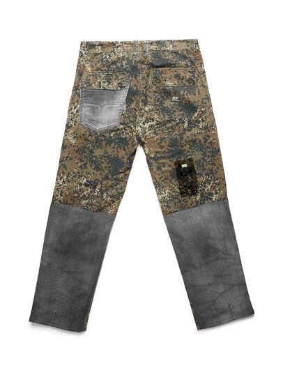 Diesel - D-ONT-HURT-ME, Vert Camouflage - Pantalons - Image 2