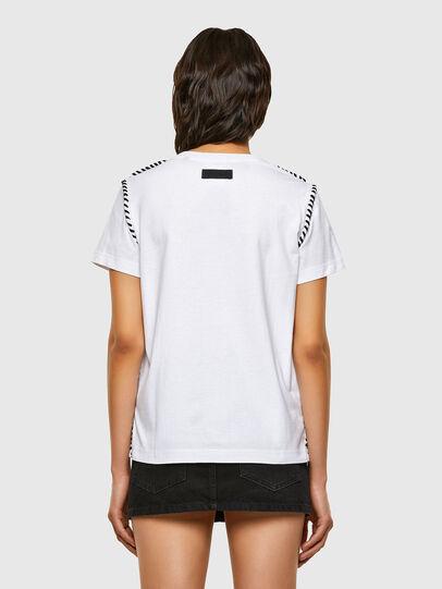Diesel - T-TWISTY, Blanc - T-Shirts - Image 2