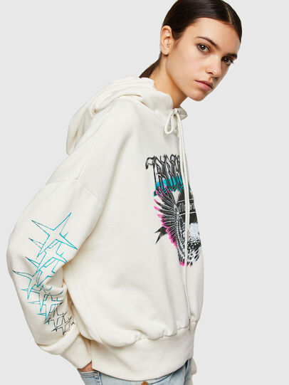 Diesel - F-MAGDALENA-A2, Blanc - Pull Cotton - Image 4