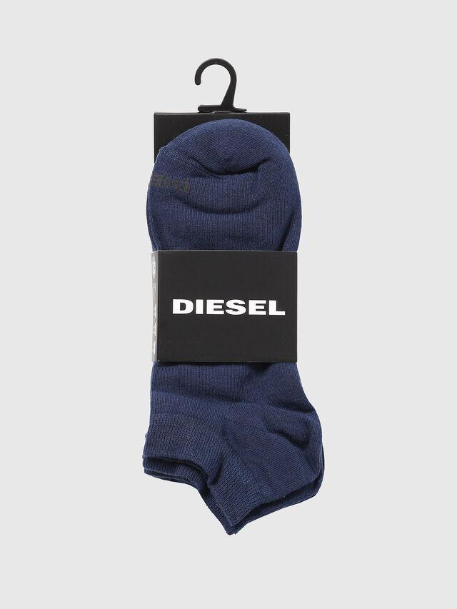 Diesel - SKM-GOST-THREEPACK, Bleu - Chaussettes basses - Image 2