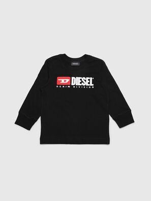 TJUSTDIVISIONB ML-R, Noir - T-shirts et Hauts