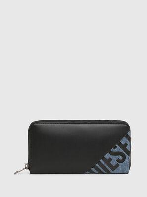 24 ZIP, Noir/Bleu - Portefeuilles Zippés