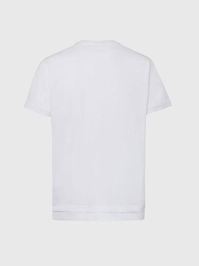 Diesel - T-DIAMANTIK-NEW2, Blanc - T-Shirts - Image 2