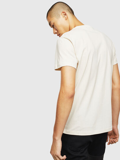 Diesel - T-WORKY-MOHI, Blanc - T-Shirts - Image 2