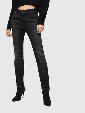 Krailey JoggJeans 069GN, Noir/Gris foncé - Jeans