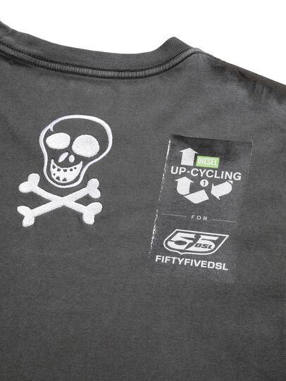 Diesel - D-5055-G, Noir - T-Shirts - Image 7