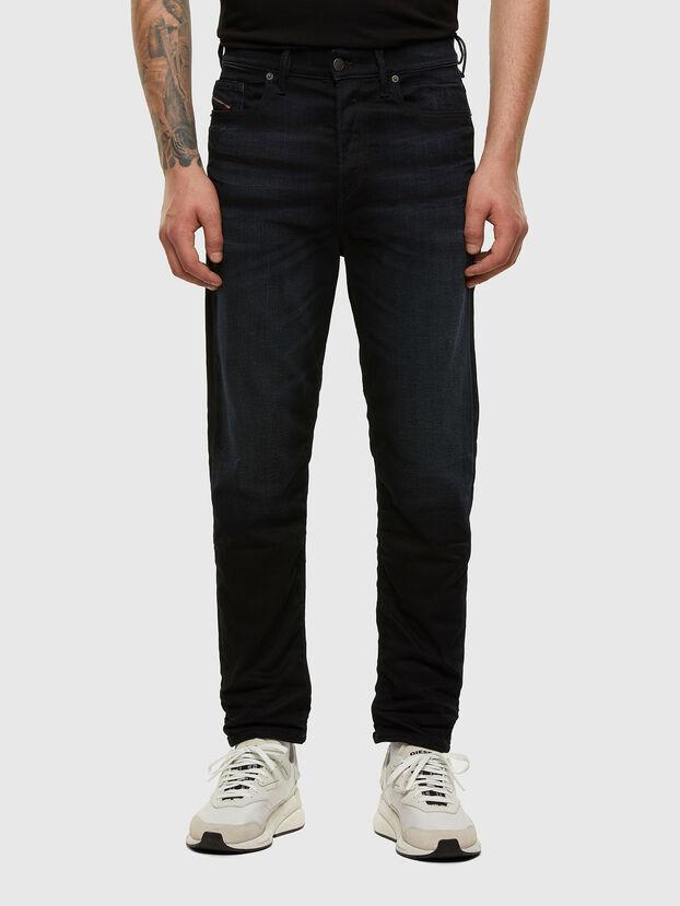 D-Vider 084AY, Bleu Foncé - Jeans