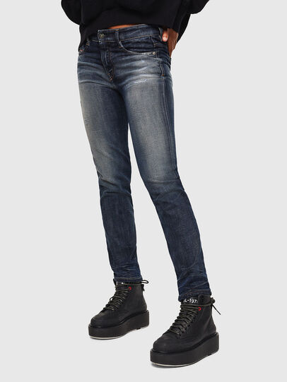 Diesel - D-Rifty 0096U, Bleu Foncé - Jeans - Image 5