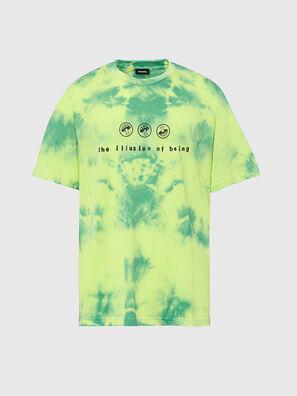 T-JUST-SLITS-X86, Vert/Jaune - T-Shirts