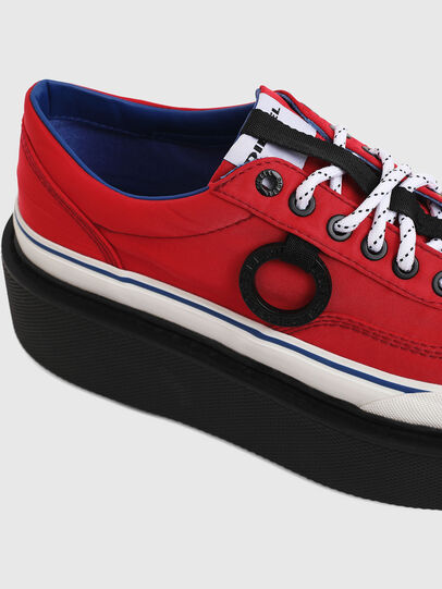 Diesel - H-SCIROCCO LOW, Rouge Flamme - Baskets - Image 5