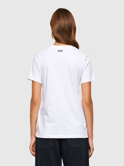 Diesel - T-SILY-V20, Blanc - T-Shirts - Image 2