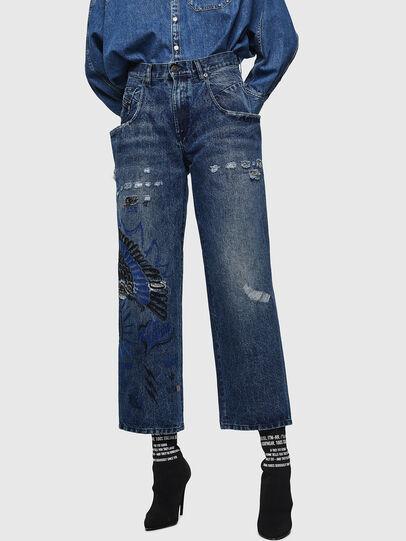 Diesel - Widee 0092Z, Bleu moyen - Jeans - Image 1