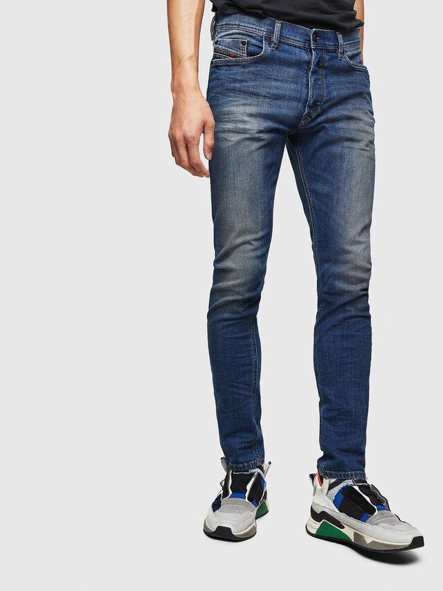 Diesel - Tepphar 087AW, Bleu Foncé - Jeans - Image 1