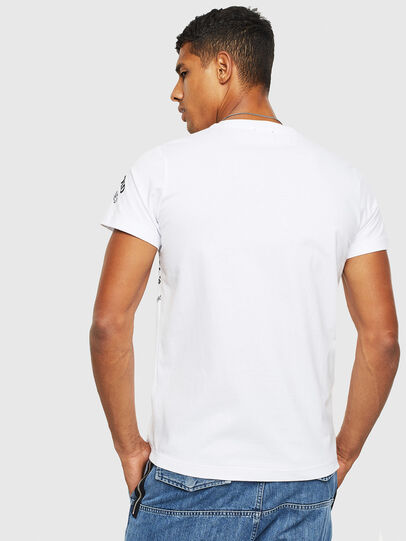 Diesel - T-DIEGO-S3, Blanc - T-Shirts - Image 2