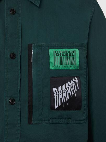 Diesel - S-MARCUS, Vert Foncé - Chemises - Image 5