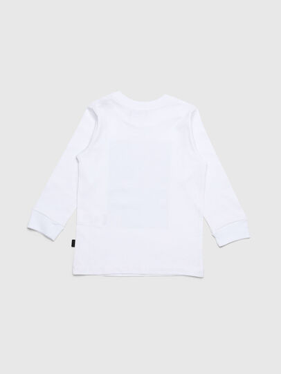 Diesel - TRAVEB-R, Blanc - T-shirts et Hauts - Image 2