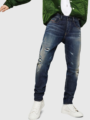 D-Strukt 0890W, Bleu Foncé - Jeans