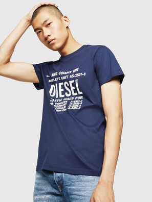 T-DIEGO-B6, Bleu - T-Shirts