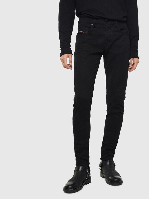 D-Strukt 069JB, Noir/Gris foncé - Jeans