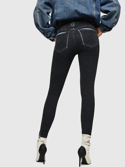 Diesel - Slandy High 0094B, Bleu Foncé - Jeans - Image 2