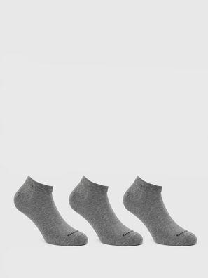 SKM-GOST-THREEPACK, Gris - Chaussettes basses