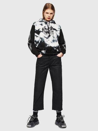 Diesel - S-ALBY-Y, Noir/Blanc - Pull Cotton - Image 6