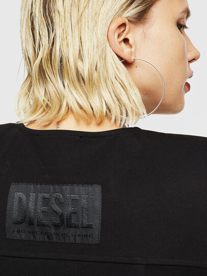 Diesel - D-SKUSA, Noir - Robes - Image 5