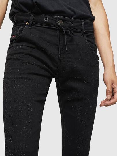 Diesel - Krooley JoggJeans 0092N, Noir/Gris foncé - Jeans - Image 3