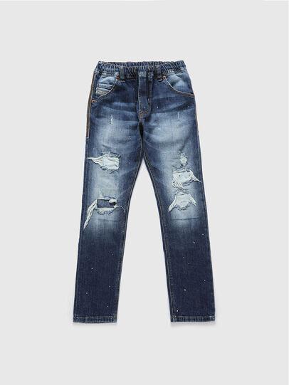 Diesel - KROOLEY-NE-J, Bleu moyen - Jeans - Image 1
