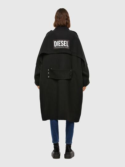 Diesel - W-TILLER, Noir - Vestes d'hiver - Image 2