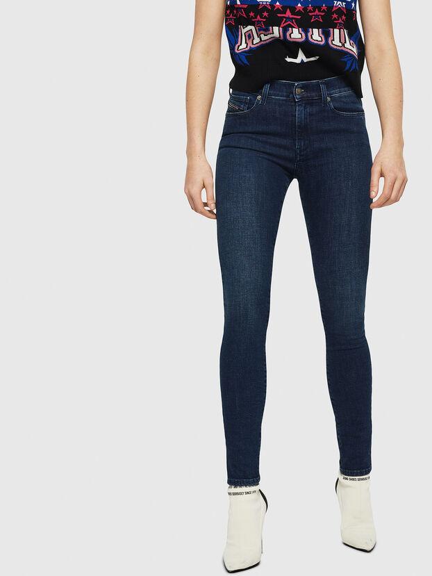 D-Roisin 0890G, Bleu Foncé - Jeans