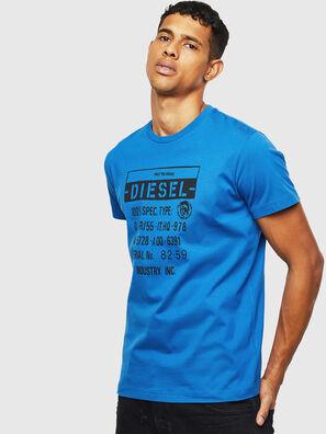 T-DIEGO-S1, Bleu - T-Shirts