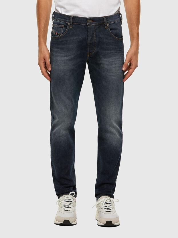 D-Yennox 009EM, Bleu Foncé - Jeans
