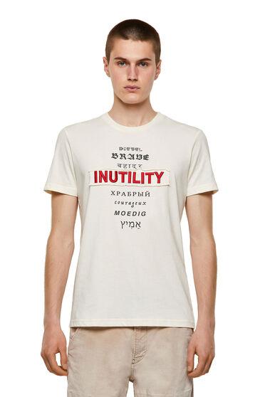 T-shirt Green Label avec empiècement Inutility