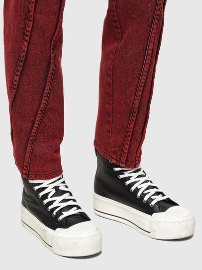 Diesel - D-Joy 009RJ, Rouge - Jeans - Image 4