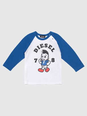 TORAB, Blanc/Bleu - T-shirts et Hauts